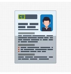 human resources icon design vector image