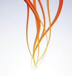 Orange channel - speed waves background vector