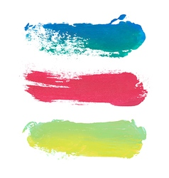 Paint stripes with place for text vector
