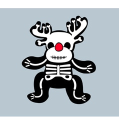 Skeleton bones design vector
