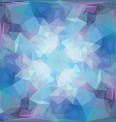 Abstract Geometric Background with Triangular Poly vector image vector image