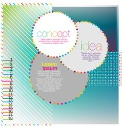 Scrapbook and infographics element vector image vector image