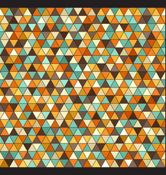 Retro triangle pattern seamless vintage vector