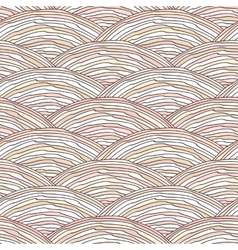 Seamless pattern with hand drawn wavy texture vector