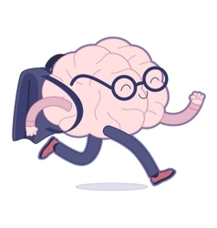 Back to school Brain collection vector image vector image