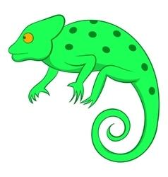Chameleon icon cartoon style vector