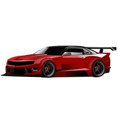 Concept race car vector