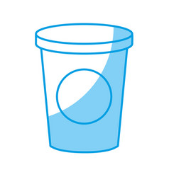 Drink cup icon vector