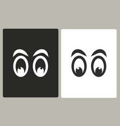 Eye - icon vector