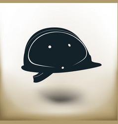 simple builder helm vector image vector image