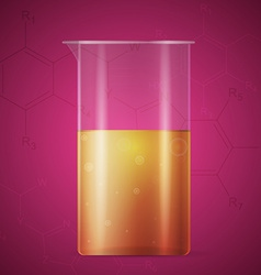 Test tube vector image