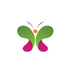 - butterfly conceptual simple colorful vector