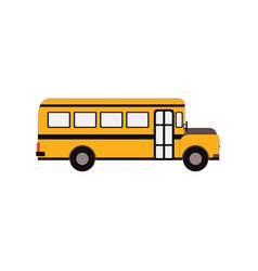 City public bus and vehicle transportation city vector