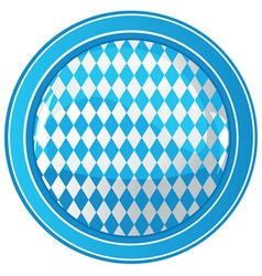 Oktoberfest circle background vector image