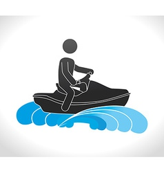 Extreme sports design vector