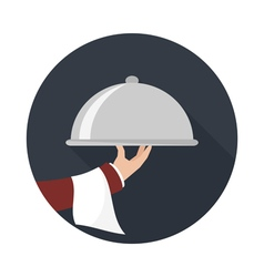 Food service icon vector