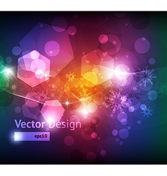 Abstract Christmas Design vector image