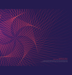 Abstract lines background design vector