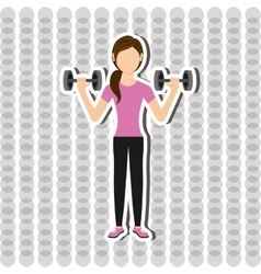 Gym sport icon design vector