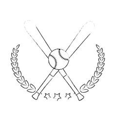 Baseball sport game vector