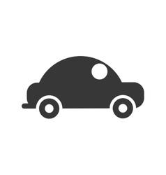car automobile silhouette vector image vector image