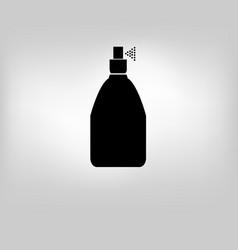 Icon bottle spray vector