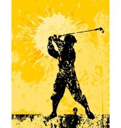 golf2 vector image