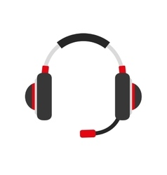Headphone icon music design graphic vector