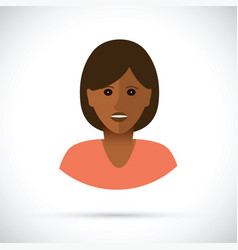 Women profile view vector