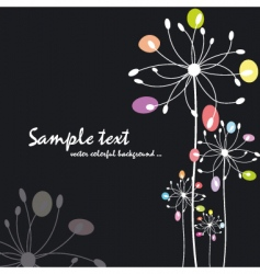 spring summer colorful floral vector image