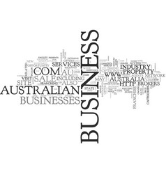 Australian business for sale text word cloud vector