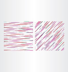 two color line textures vector image vector image