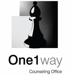 One way logo vector