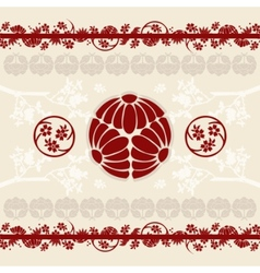 Asian designs background vector