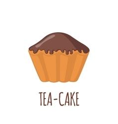 Cake icon on white background vector