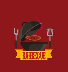 Barbecue celebration concept icons vector