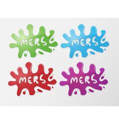 Mers Corona Virus vector image vector image