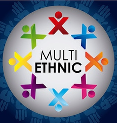 multiethnic diversity vector image