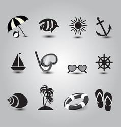 item summer vector image