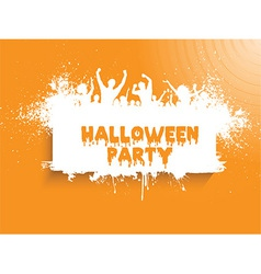 Grunge halloween party 2508 vector