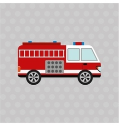 Emergency service design vector