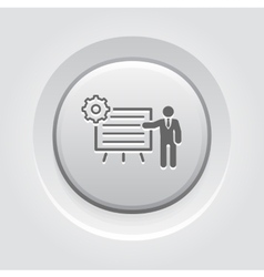 Business processes icon vector