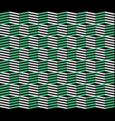 retro zigzag pattern abstract geometric vector image