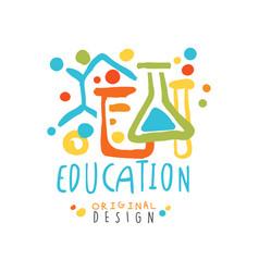 Education label original design back to school vector