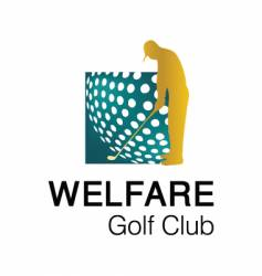 Welfare golf club 1 logo vector