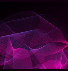 abstract background purple on black vector image