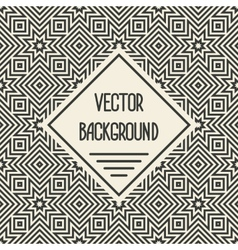background with geometric seamless patterns vector image vector image