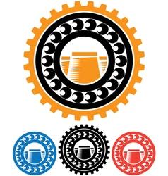 heavy industry vector image