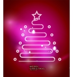 Holiday pink abstract background winter vector image vector image
