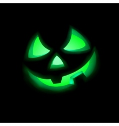 Jack-o-lantern vector image